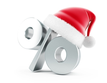 Christmas Sale santa hat photo