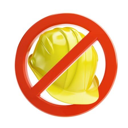 interdiction: pas de travail sur un fond blanc Banque d'images