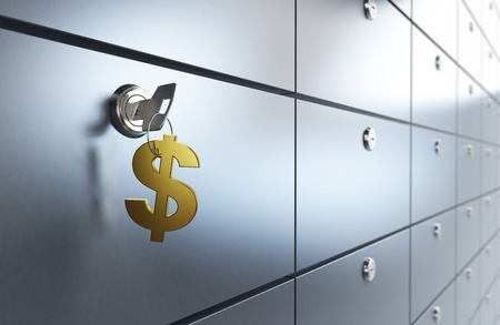 safety box: Safe Deposit Box