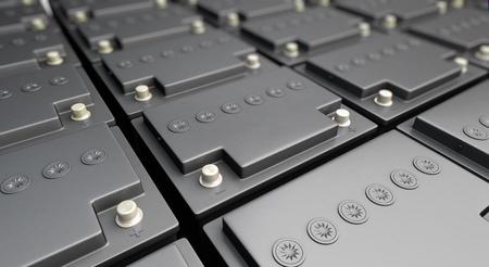 pila: batería de acumuladores de fondo