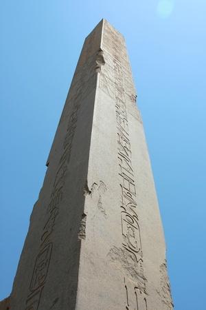 obelisc: Obelisk, luxor Karnak Temple in Egypt