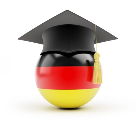 examiert: education in germany on a white background