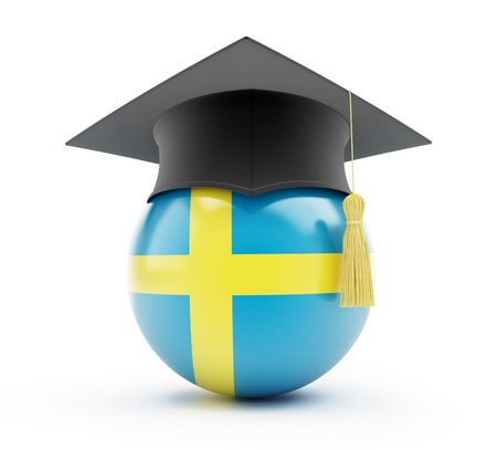 examiert: education in sweden on a white background