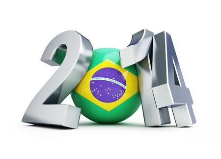 brazil football 2014 photo