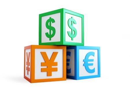 signet: alphabalphabet cubo finanzas cubo sello finanzas signo Foto de archivo
