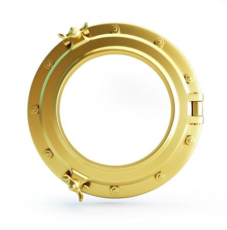 Bullauge gold Standard-Bild