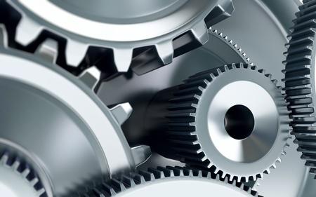 Gears Konzept Hintergrund Standard-Bild - 19060916