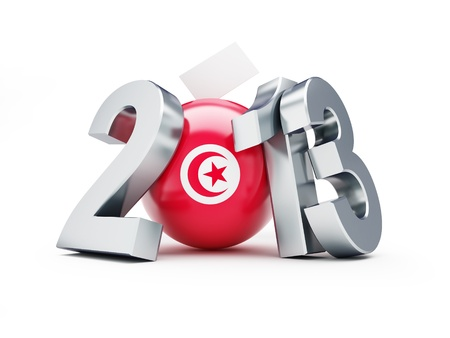 General elections in Tunisia 2013 Stock Photo - 19165851