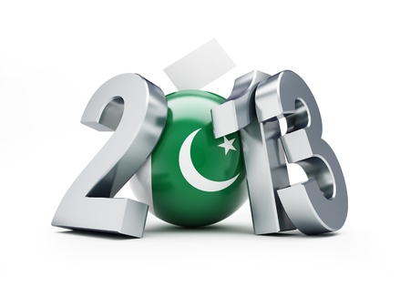 Parliamentary elections in Pakistan 2013 Stock Photo - 19165852