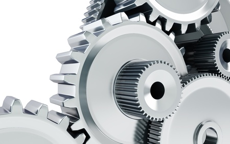 solid background: Gears concept background Stock Photo