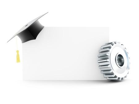 examiert: Industrial Education on a white background