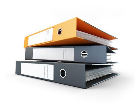 folder binder Stock Photo