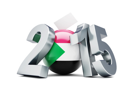 parliamentary: presidential and parliamentary elections in sudan 2015 on a white background