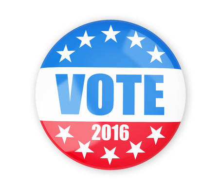 vote election badge button for 2016