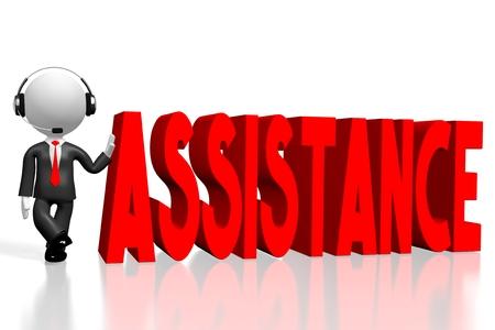 3D assistance concept