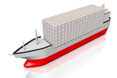 Cargo ship Imagens