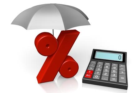 Calculator concept Stock Photo