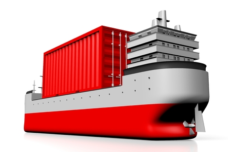 3D-schip, container