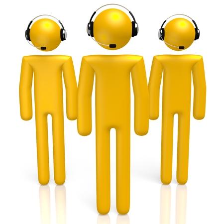 dispatcher: 3D headset concept