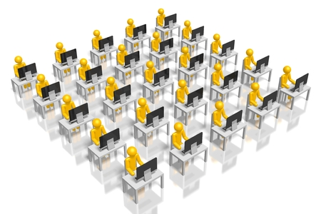 3D corporation, call center concept