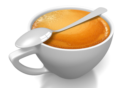 cappucino: Coffee cup