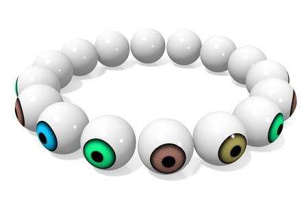 sight: 3D eyes