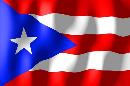 puerto rico: Puerto Rico - flag
