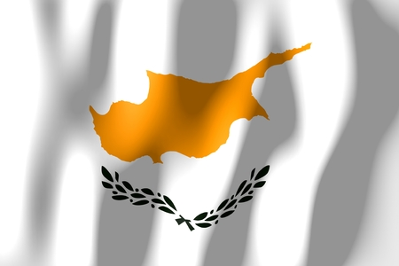 Cyprus - flag Banco de Imagens