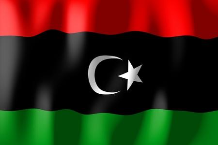 lybia: Lybia - flag