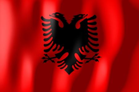 albania: Albania - flag