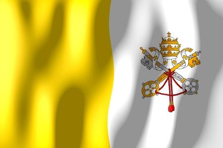 Vatican - flag Фото со стока