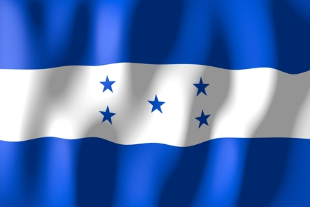 honduras: Honduras - flag Stock Photo