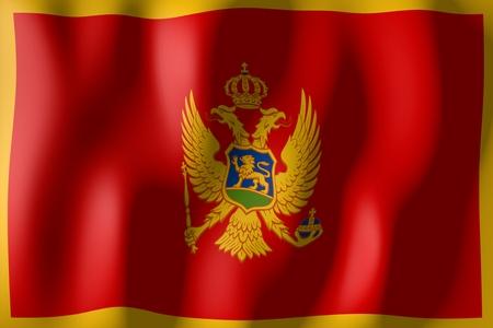 Montenegro - flag