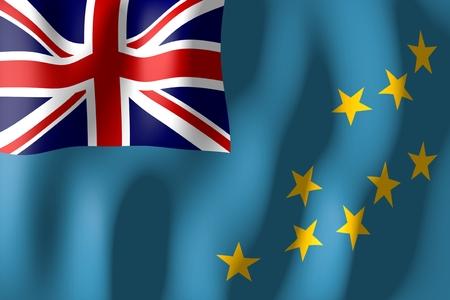 tuvalu: Tuvalu - flag