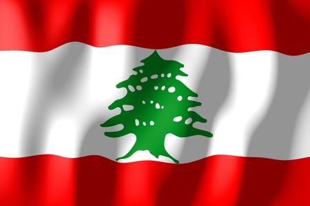 lebanon: Lebanon - flag