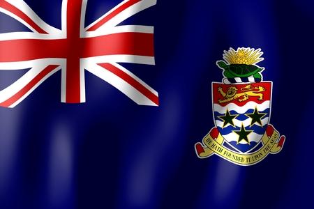 cayman islands: Cayman Islands - flag Stock Photo