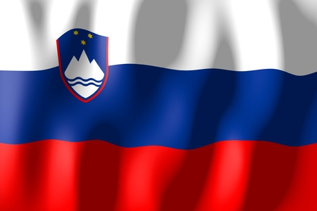 Slovenia - flag Stock Photo