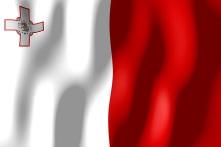 몰타 - 깃발
