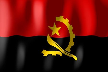 angola: Angola - flag Stock Photo