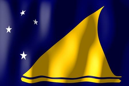 tokelau: Tokelau - flag