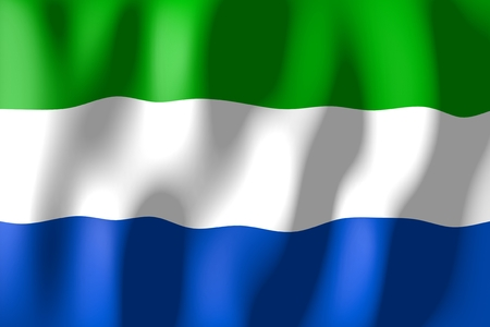 Sierra Leone - flag Stock Photo
