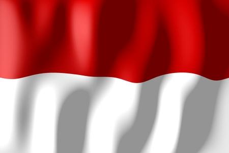 Monaco - flag Standard-Bild