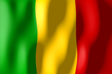 mali: Mali - flag Stock Photo
