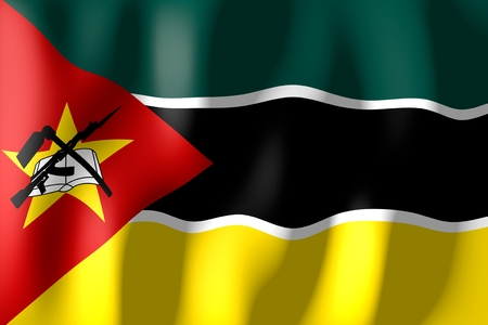 モザンビークの国旗 写真素材 - 79464950