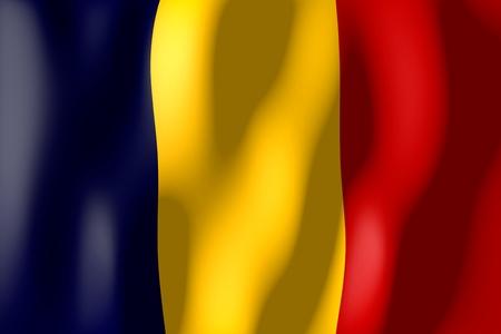 Roumanie - drapeau Banque d'images - 79464952
