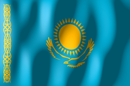 Kazakhstan - flag