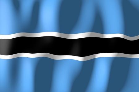 botswana: Botswana - flag