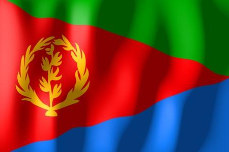 eritrea: Eritrea - flag