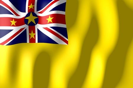 niue: Niue - flag