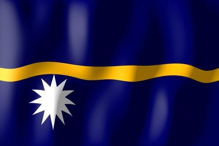 nauru: Nauru - flag